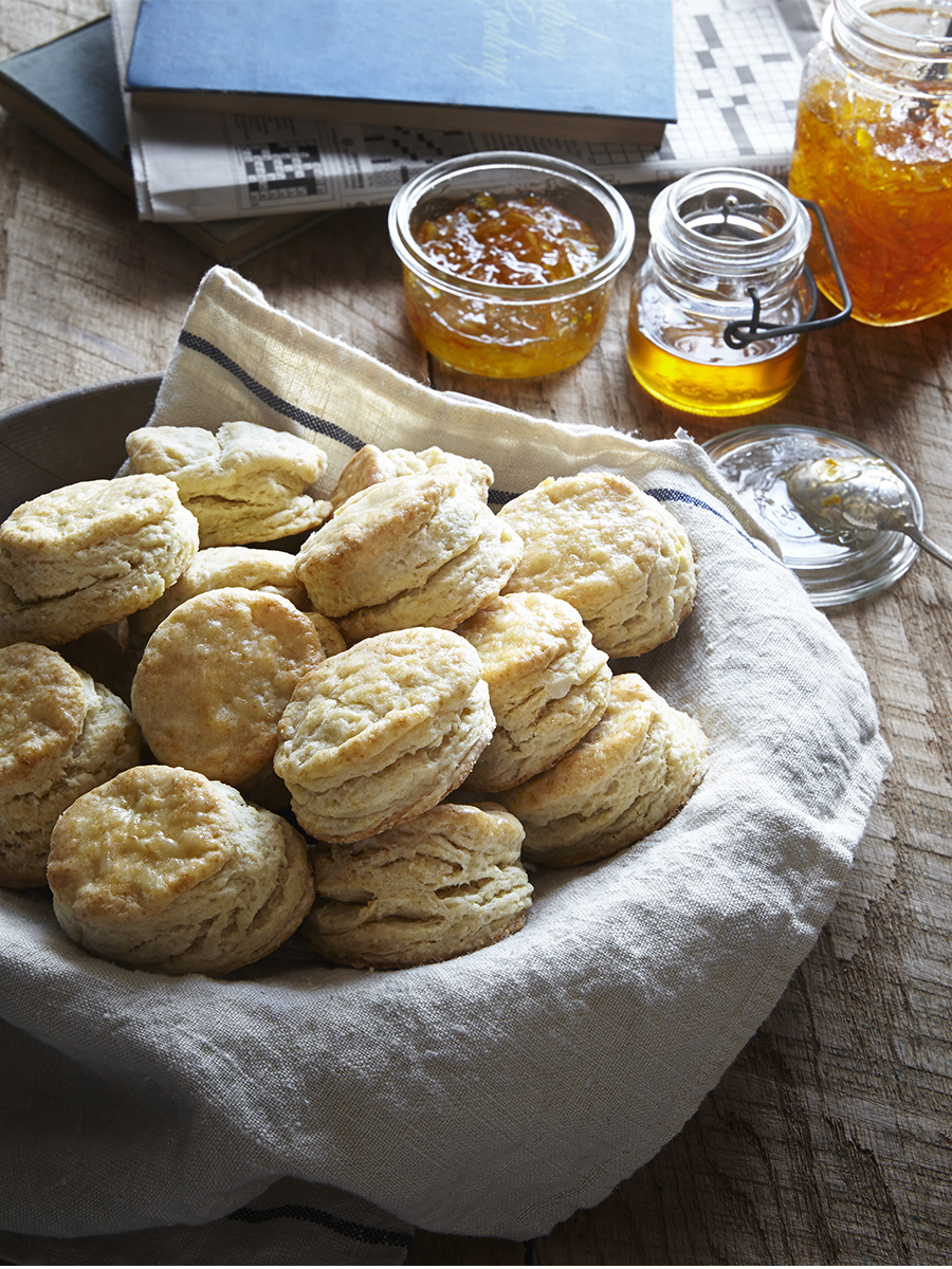 Plate of Angel Biscuits | Dovis Bird Agency
