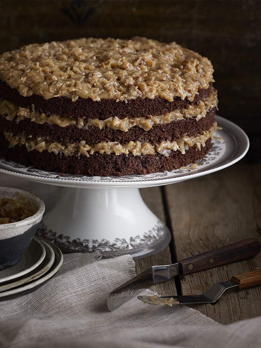 German Chocolate Cake | Dovis Bird Agency