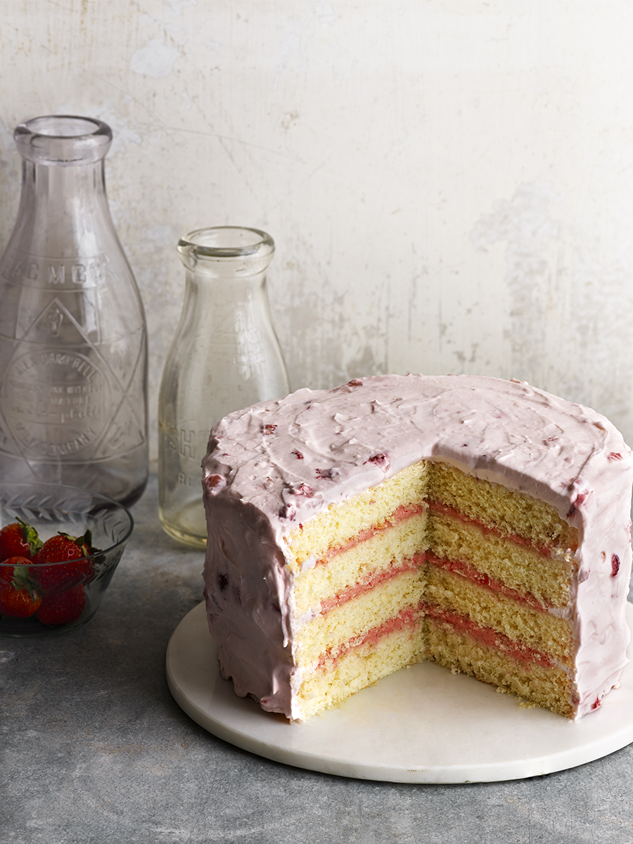 Strawberry Lemonade Cake | Dovis Bird Agency