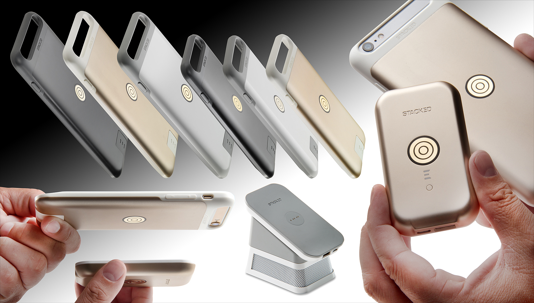 Stacked iPhone charger | Dovis Bird Agency Photography