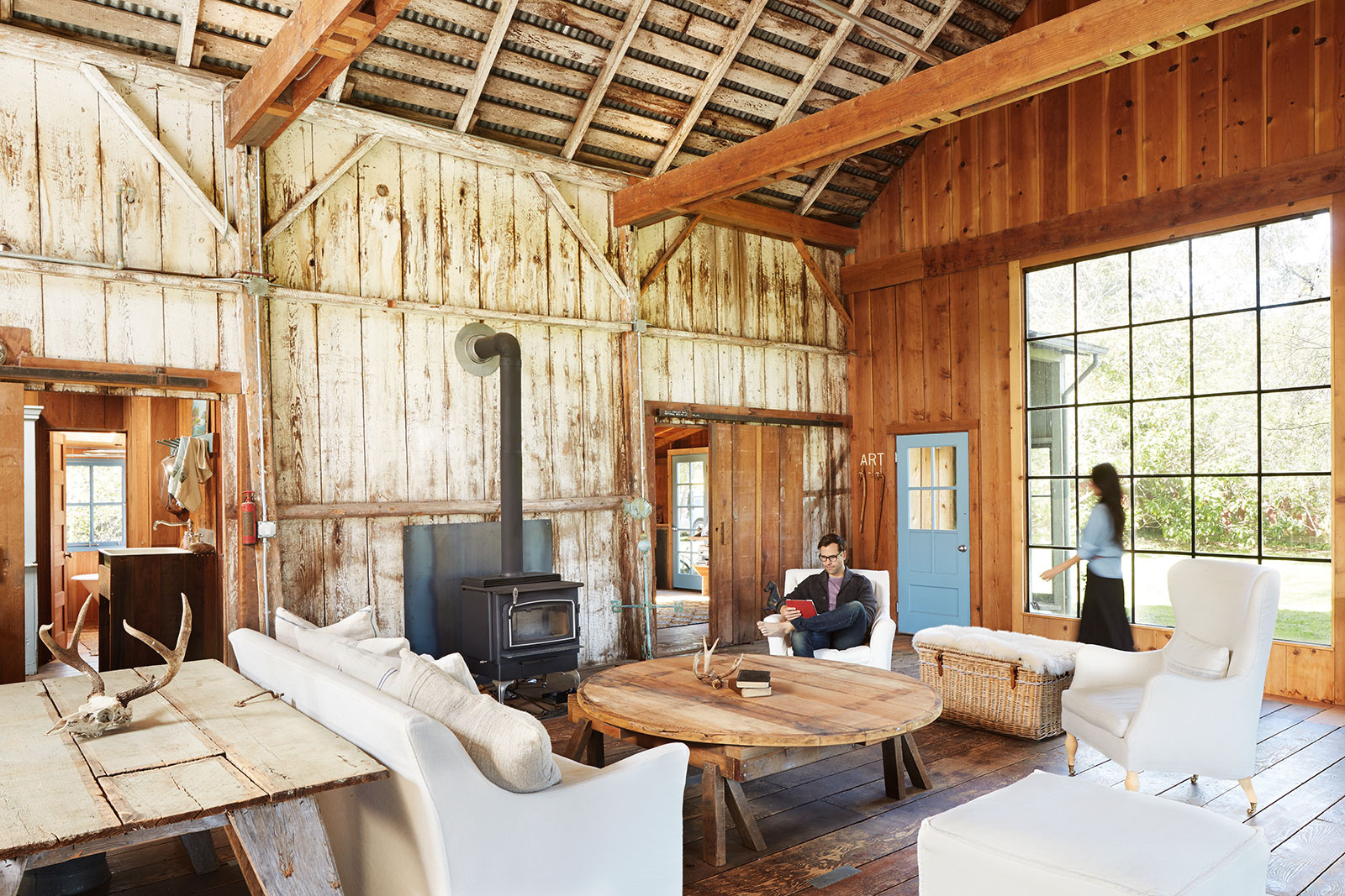 Interior of Rustic Farm House  | Dovis Bird Agency Photography