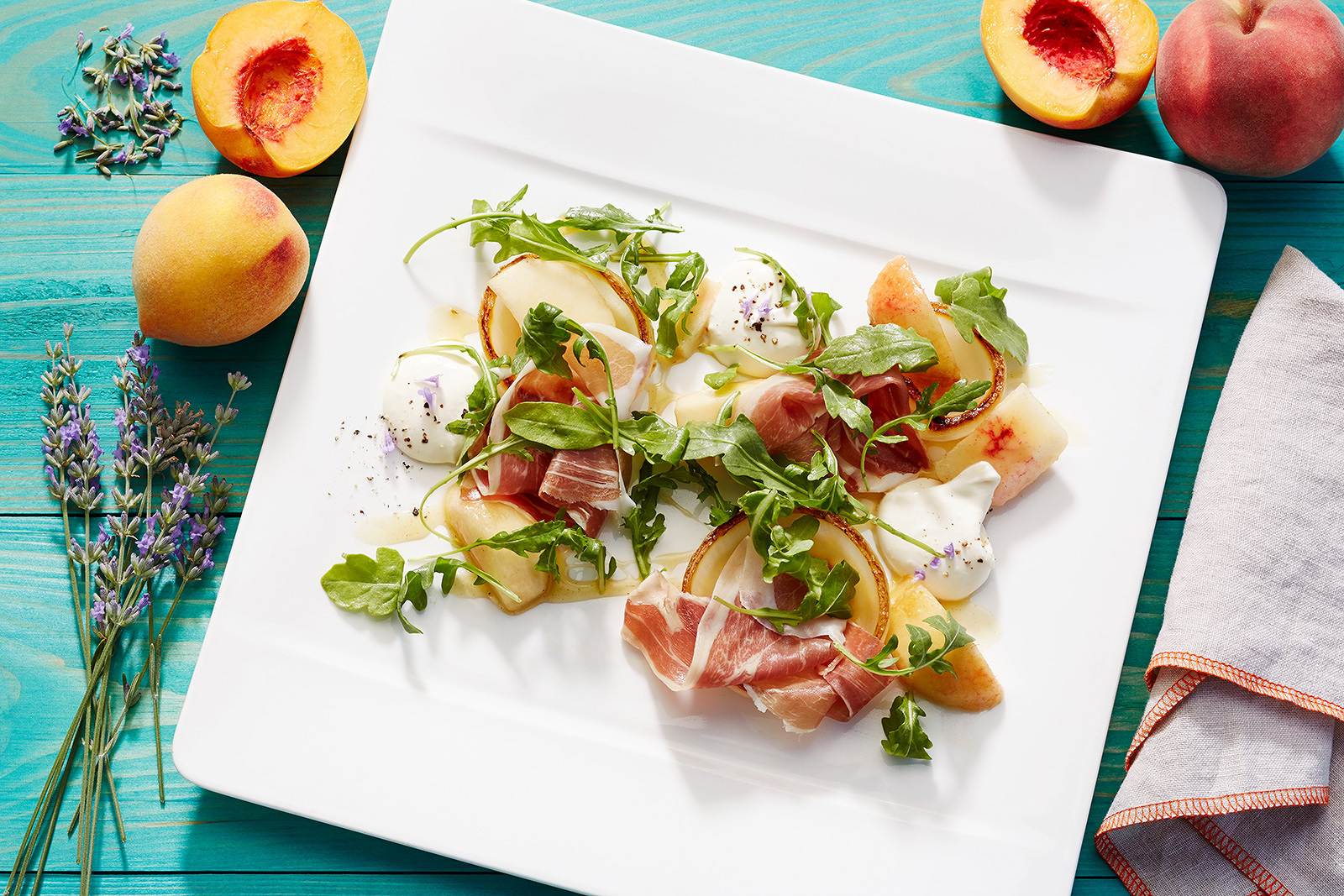 Prosciutto Salad  | Dovis Bird Agency Photography