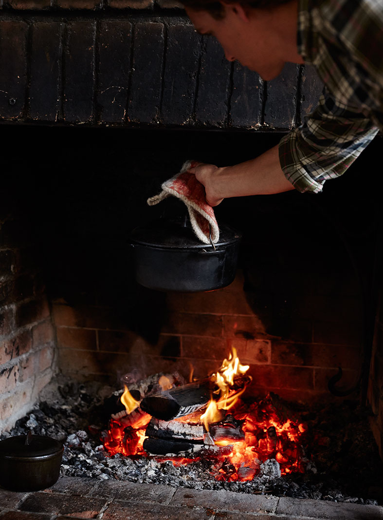 Hearth Cooking  | Dovis Bird Agency Photography