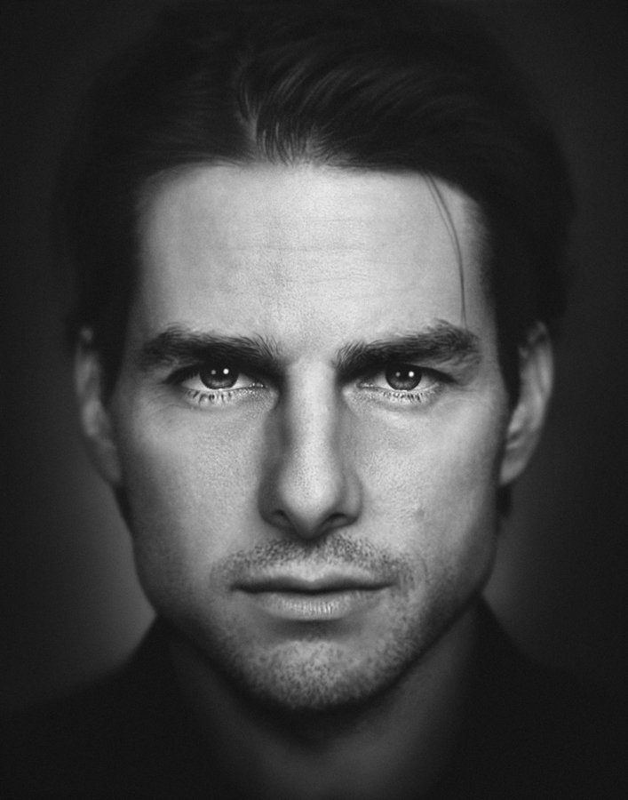 Actor tom cruise celebrity portrait dovis bird agency reps