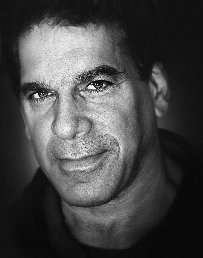 Lou Ferrigno celebrity portrait actor| Dovis Bird Agency Reps