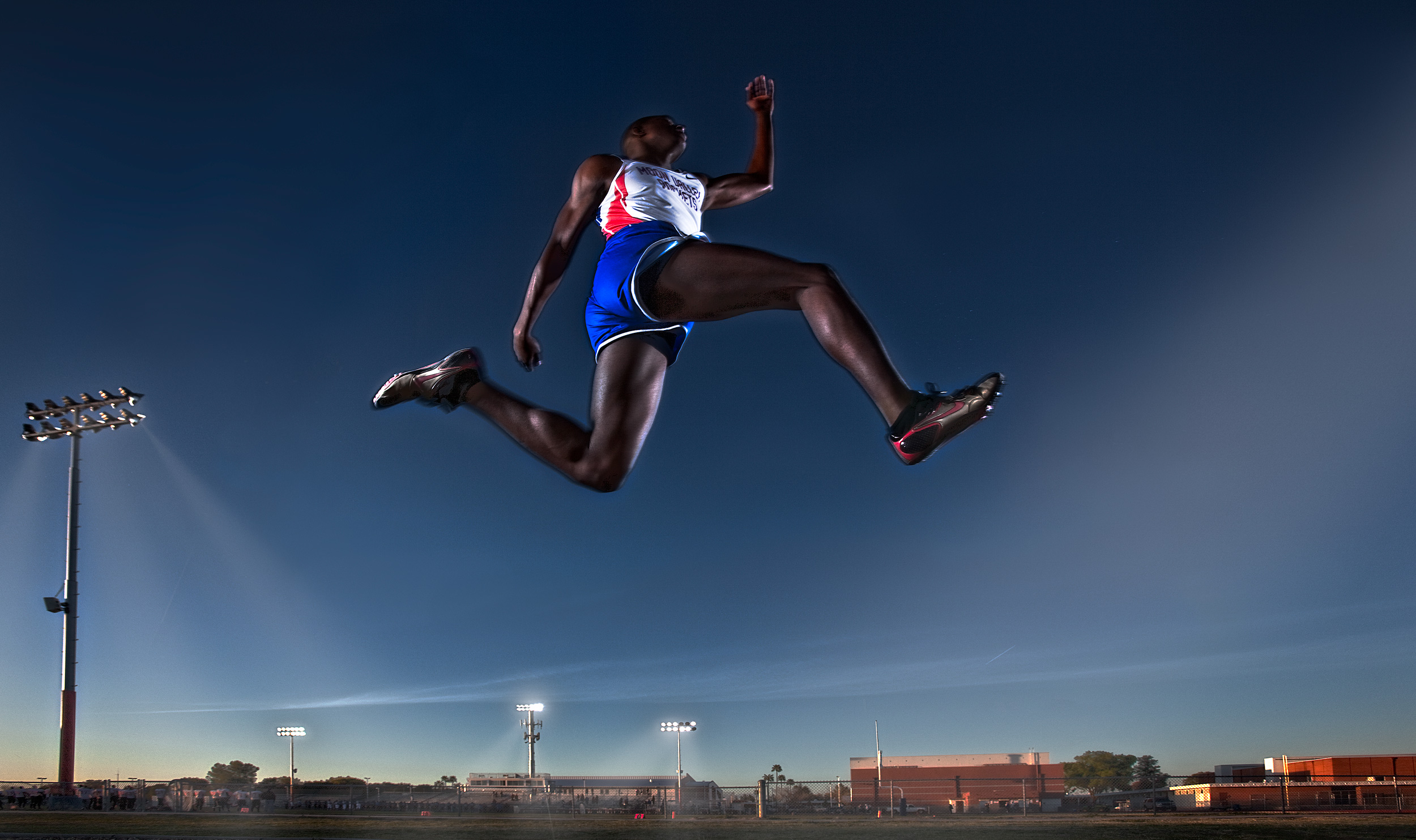 Track and Field Long Jump | Dovis Bird Agency Photography
