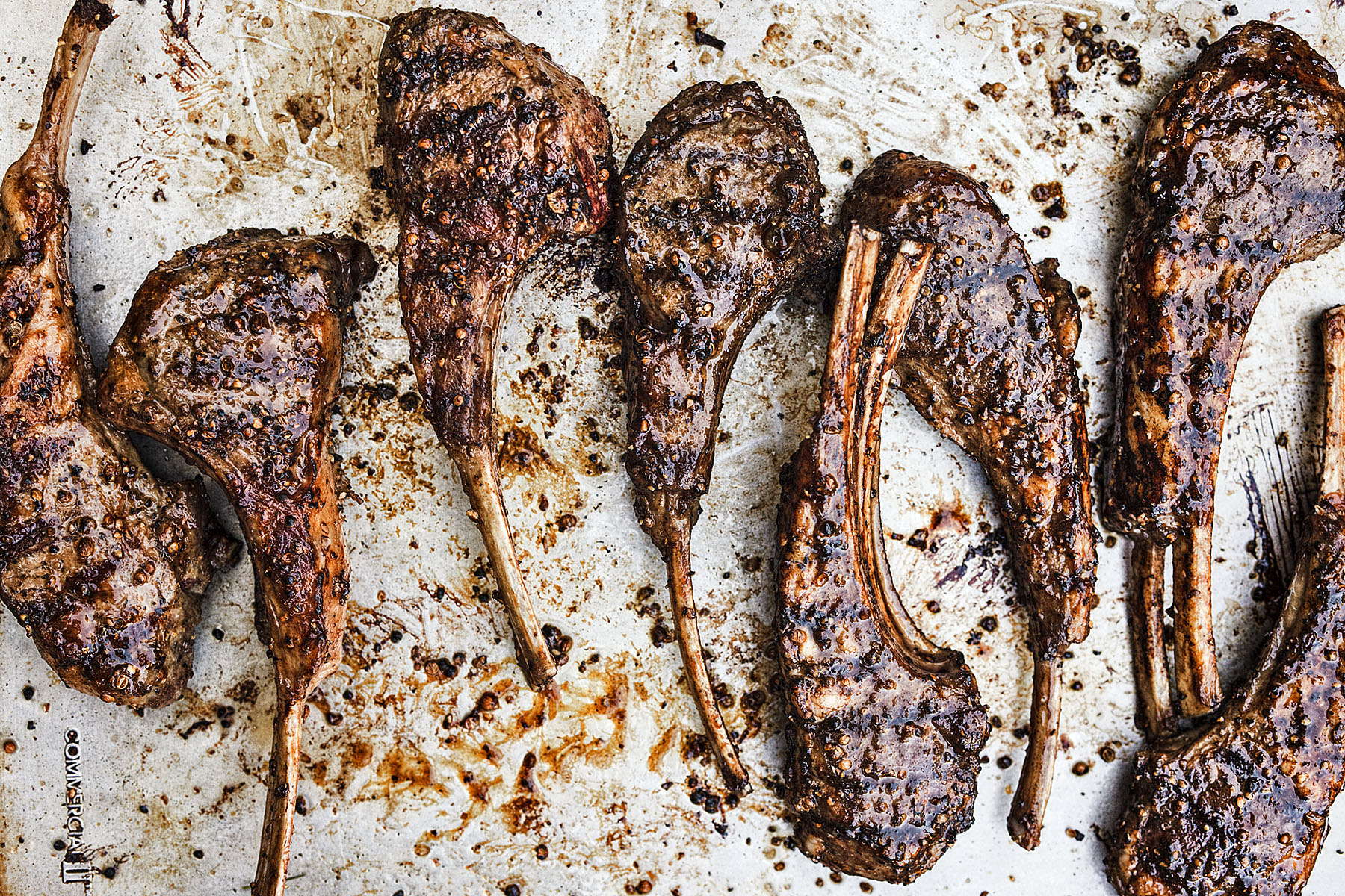 Grilled Lamb Chops | Dovis Bird Agency Photography