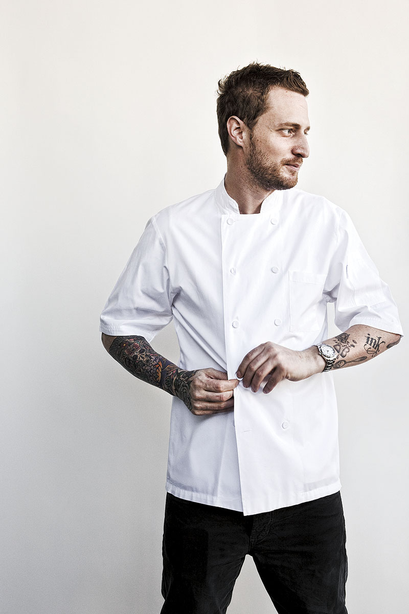 Portrait of Chef Michael Ovitz of Ink Restaurant  | Dovis Bird Agency Photography