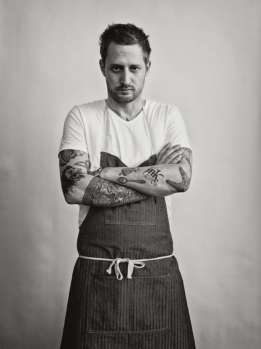 Portrait of Chef Michael Ovitz of Ink  | Dovis Bird Agency Photography
