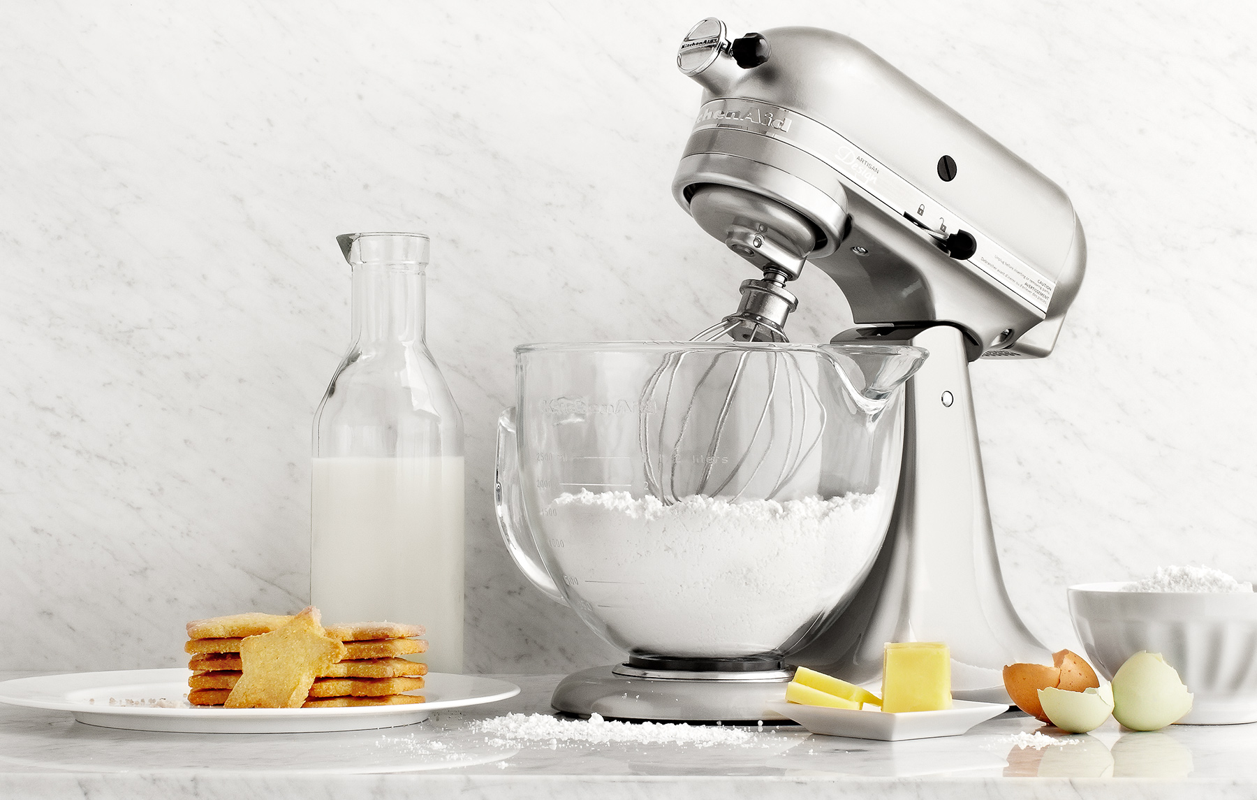 Kitchen Aid Mixer with baking goods | Dovis Bird Agency