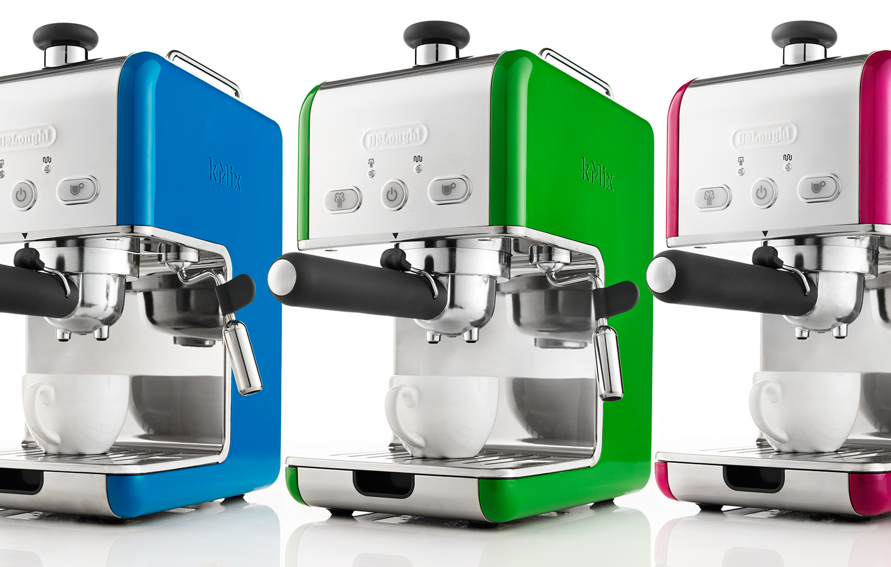 Colorful DeLonghi Espresso Makers | Dovis Bird Agency