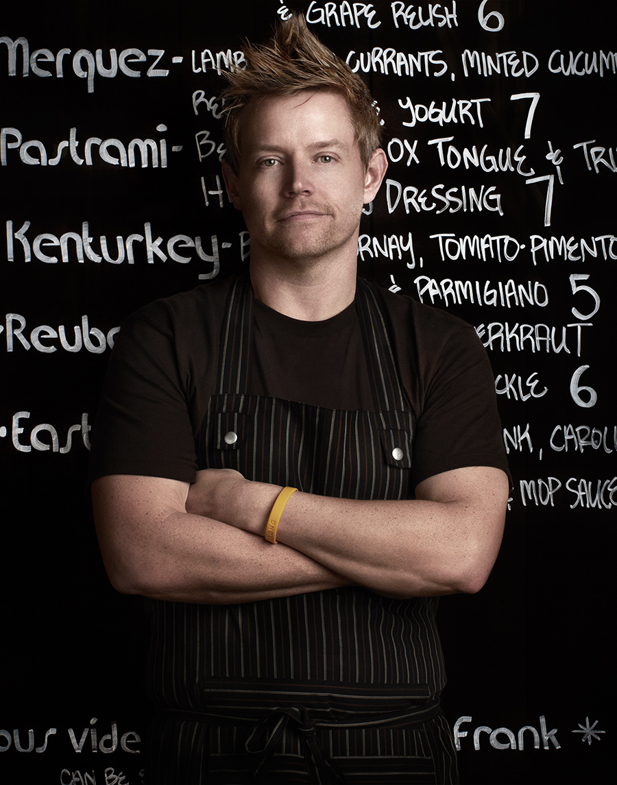 Portrait of Top Chef Allstars Richard Blais  | Dovis Bird Agency