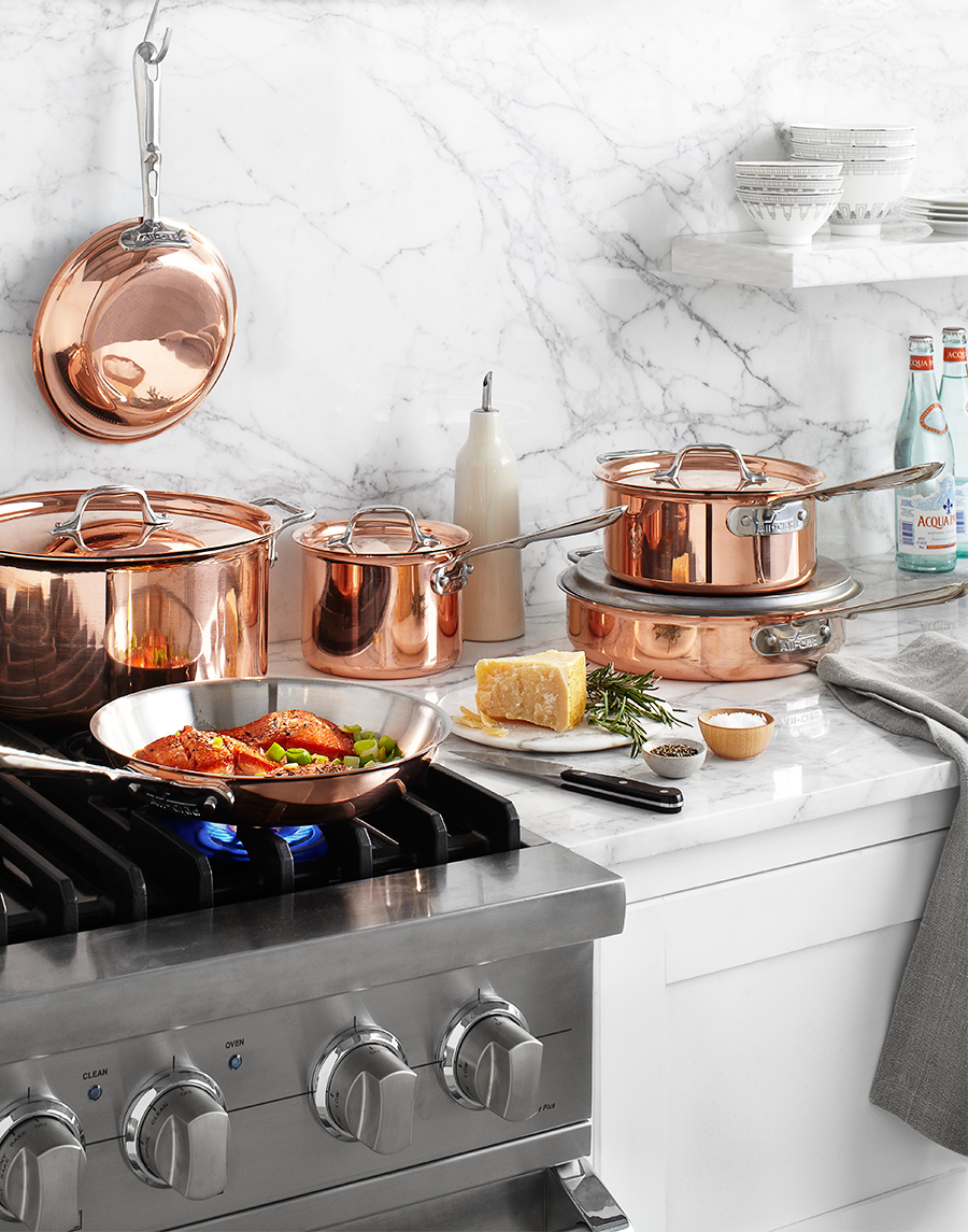 All Clad Cookware in kitchen | Dovis Bird Agency