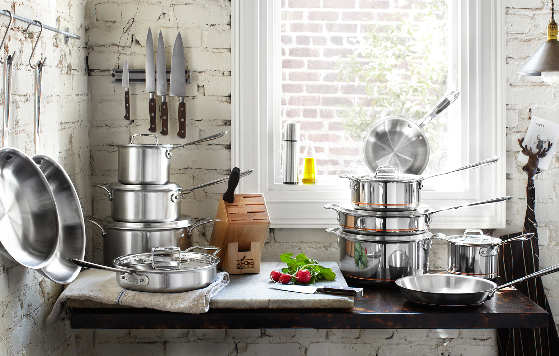 All Clad Cookware | Dovis Bird Agency