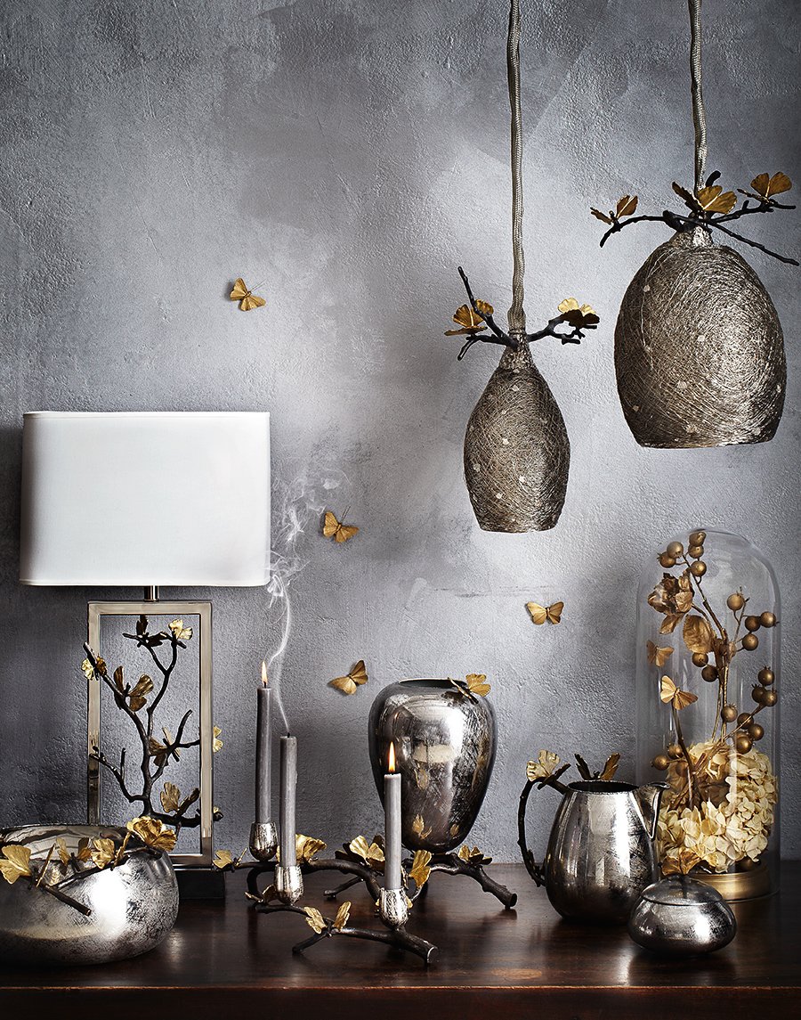 Elegant table and ceiling lamps | Dovis Bird Agency