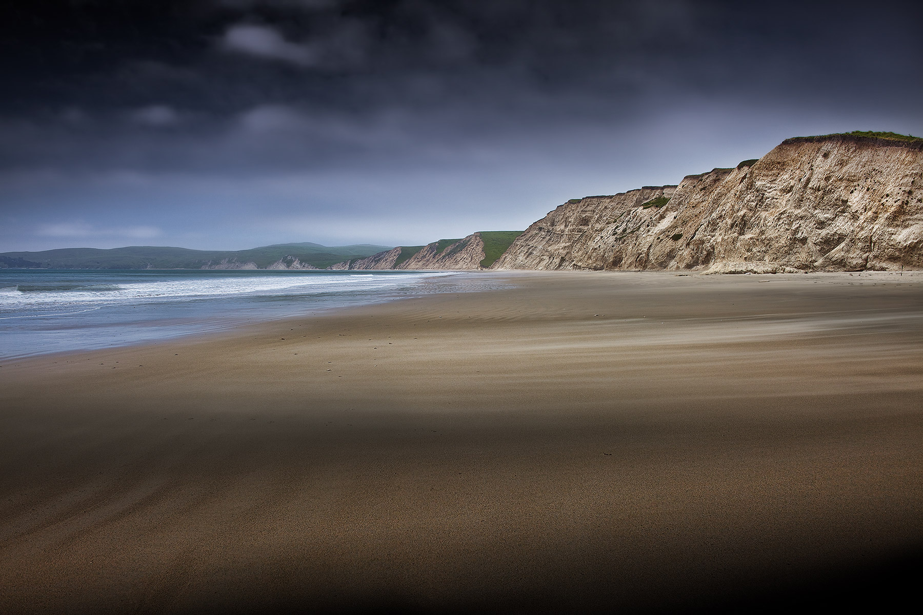Beach and cliffs California Coast | Dovis Bird Agency Reps