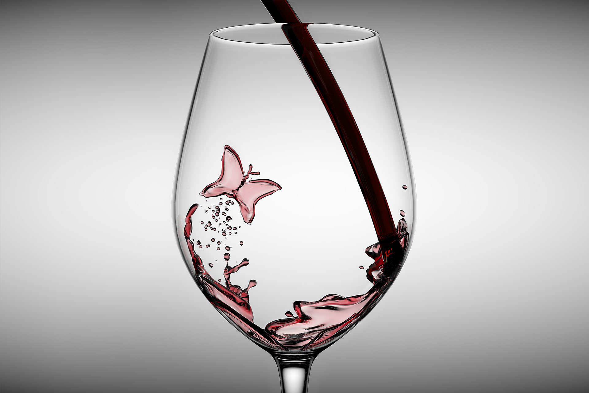 Pouring wine into glass | Dovis Bird Agency Reps