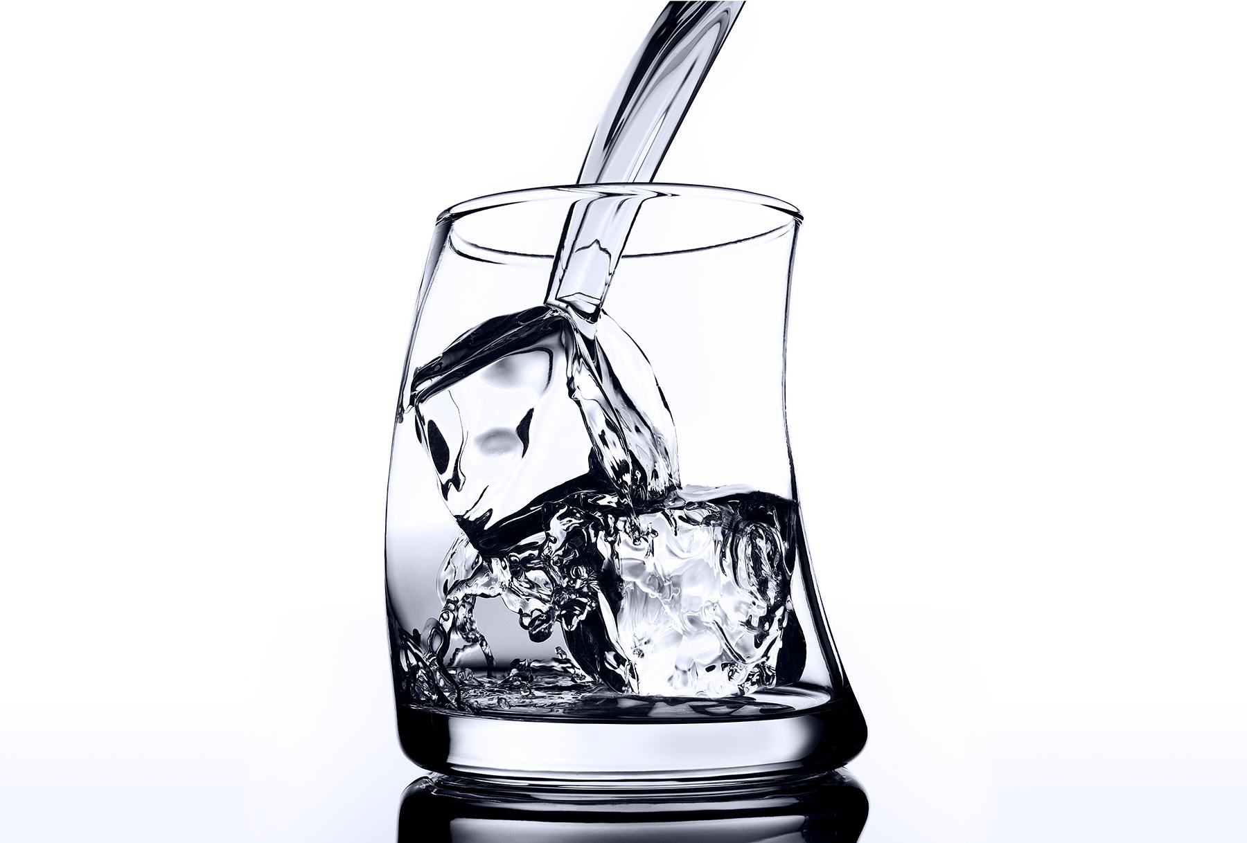 Pouring water into glass | Dovis Bird Agency Reps