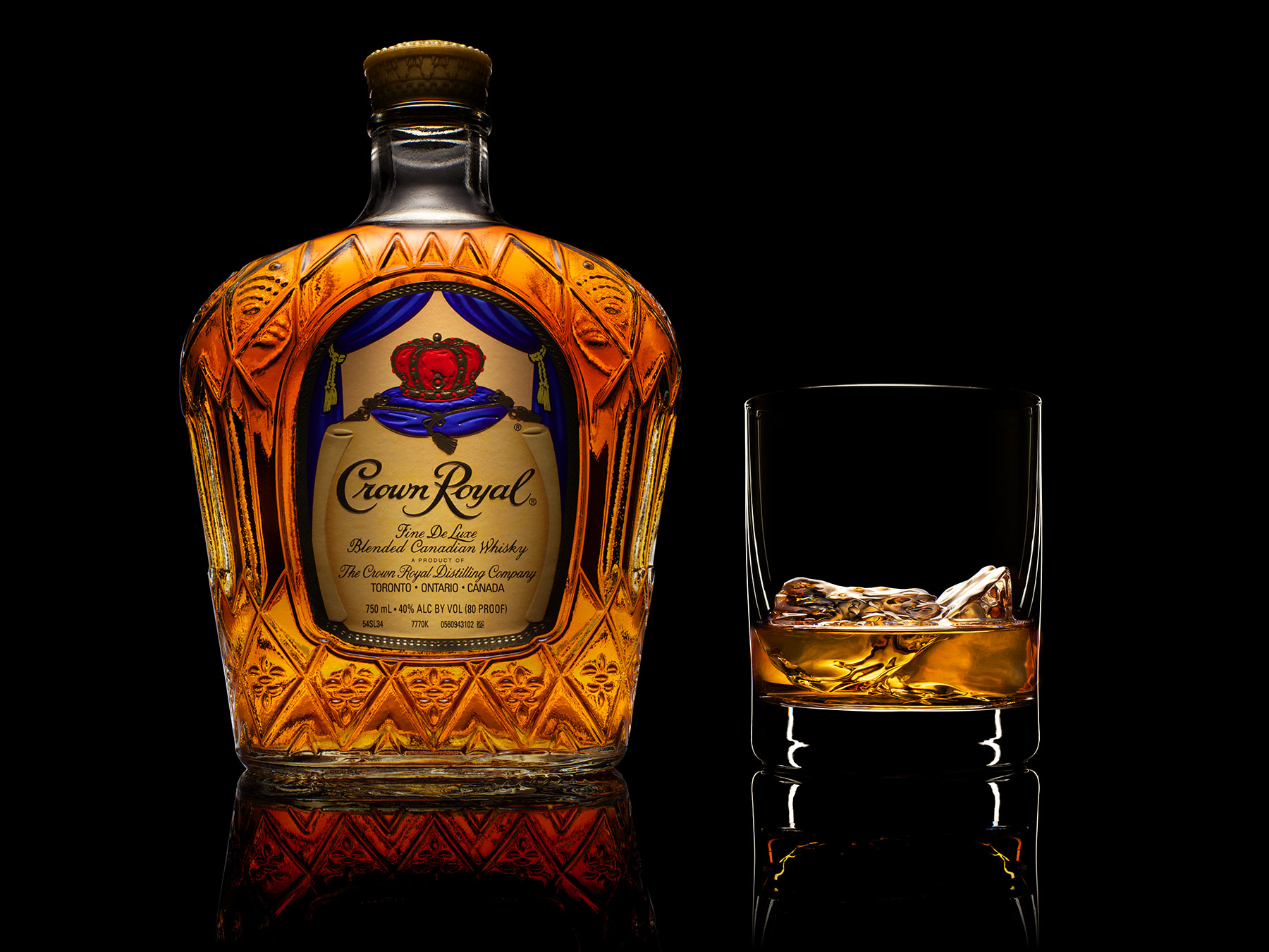 Crown Royal Canadian Whiskey | Dovis Bird Agency Reps