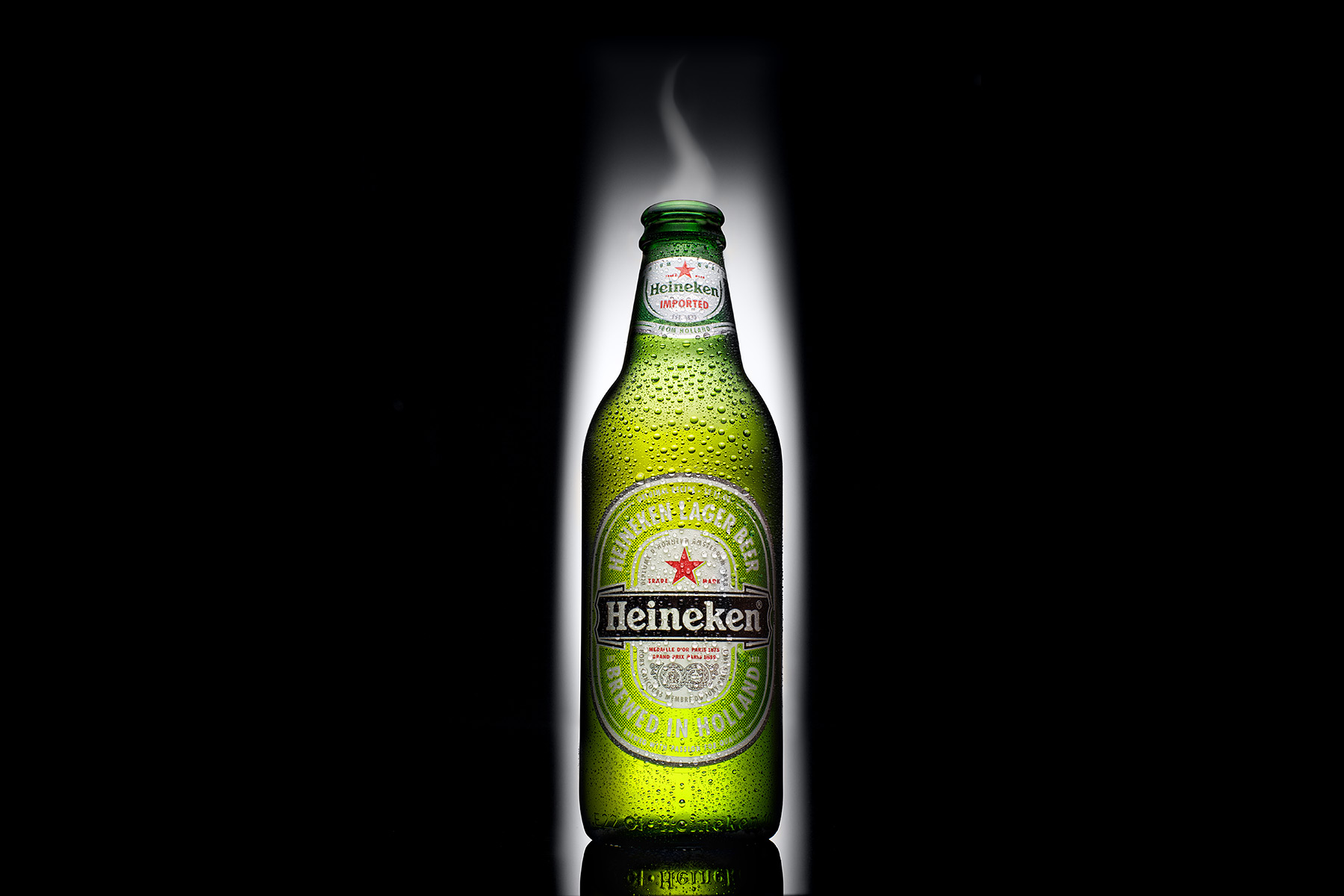 Heineken Bottle | Dovis Bird Agency Reps