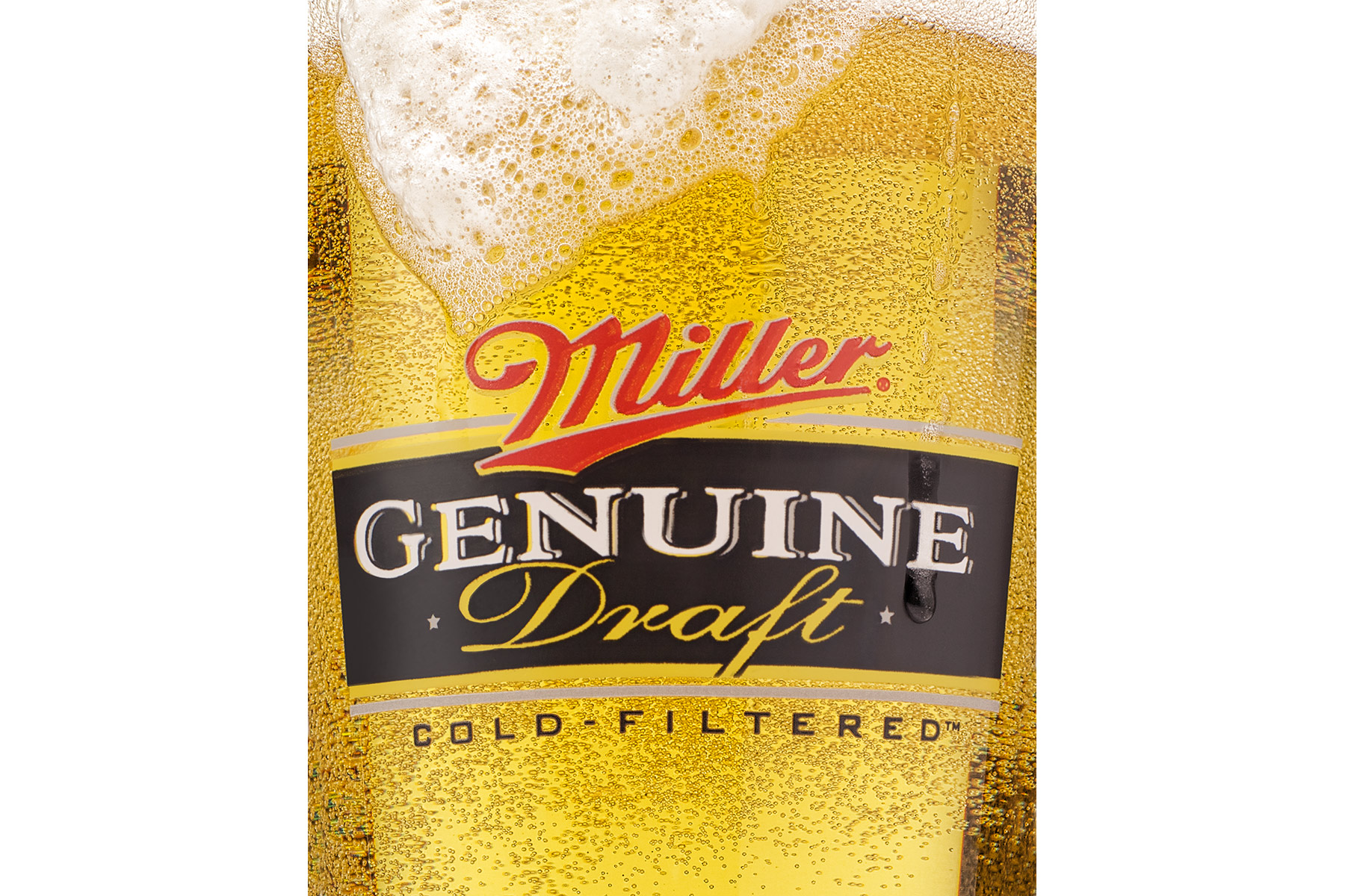 Miller Genuine Draft Bottle | Dovis Bird Agency Reps
