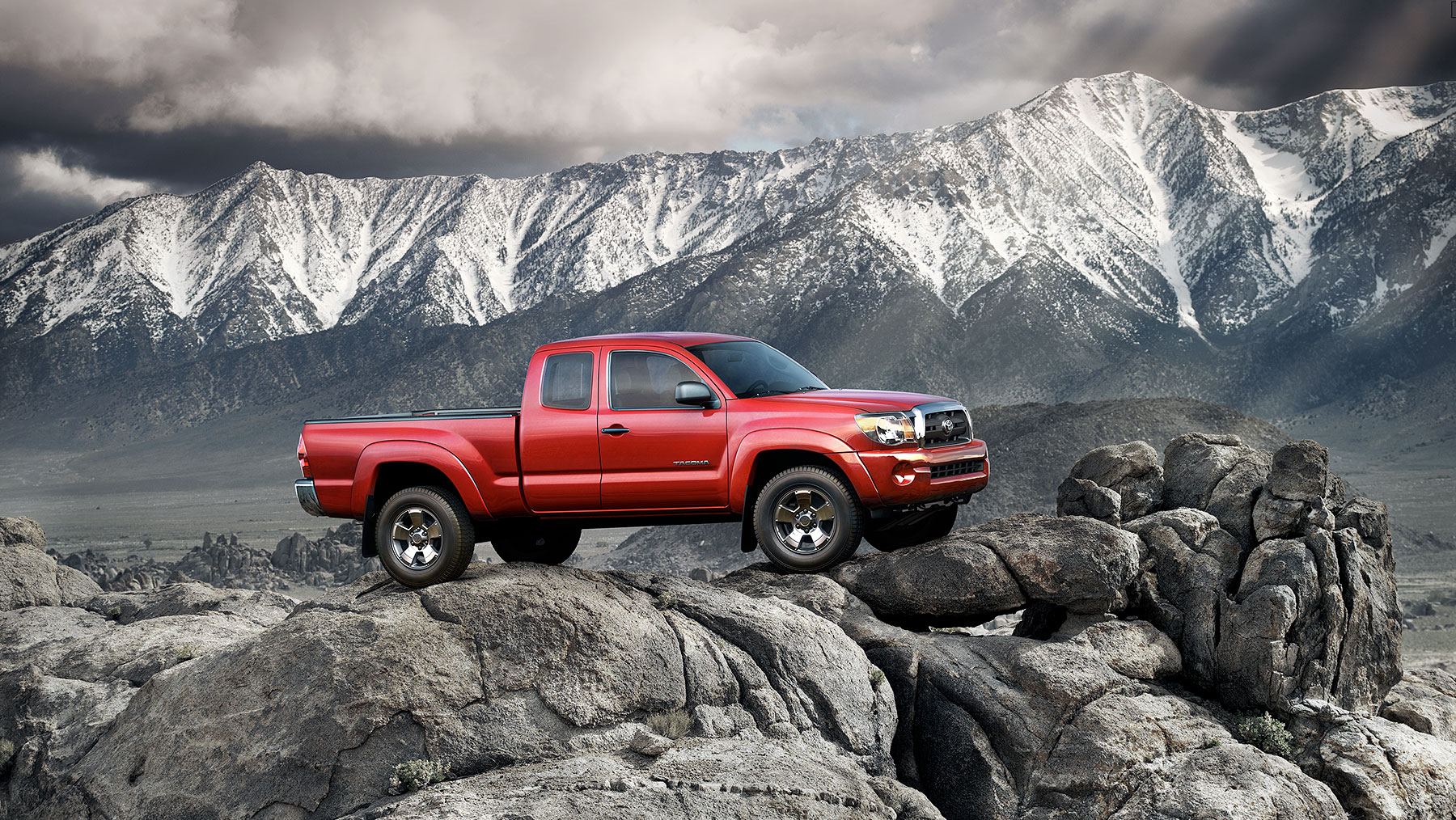 Toyota Tacoma Truck Automotive Photography| Dovis Bird Agency Reps