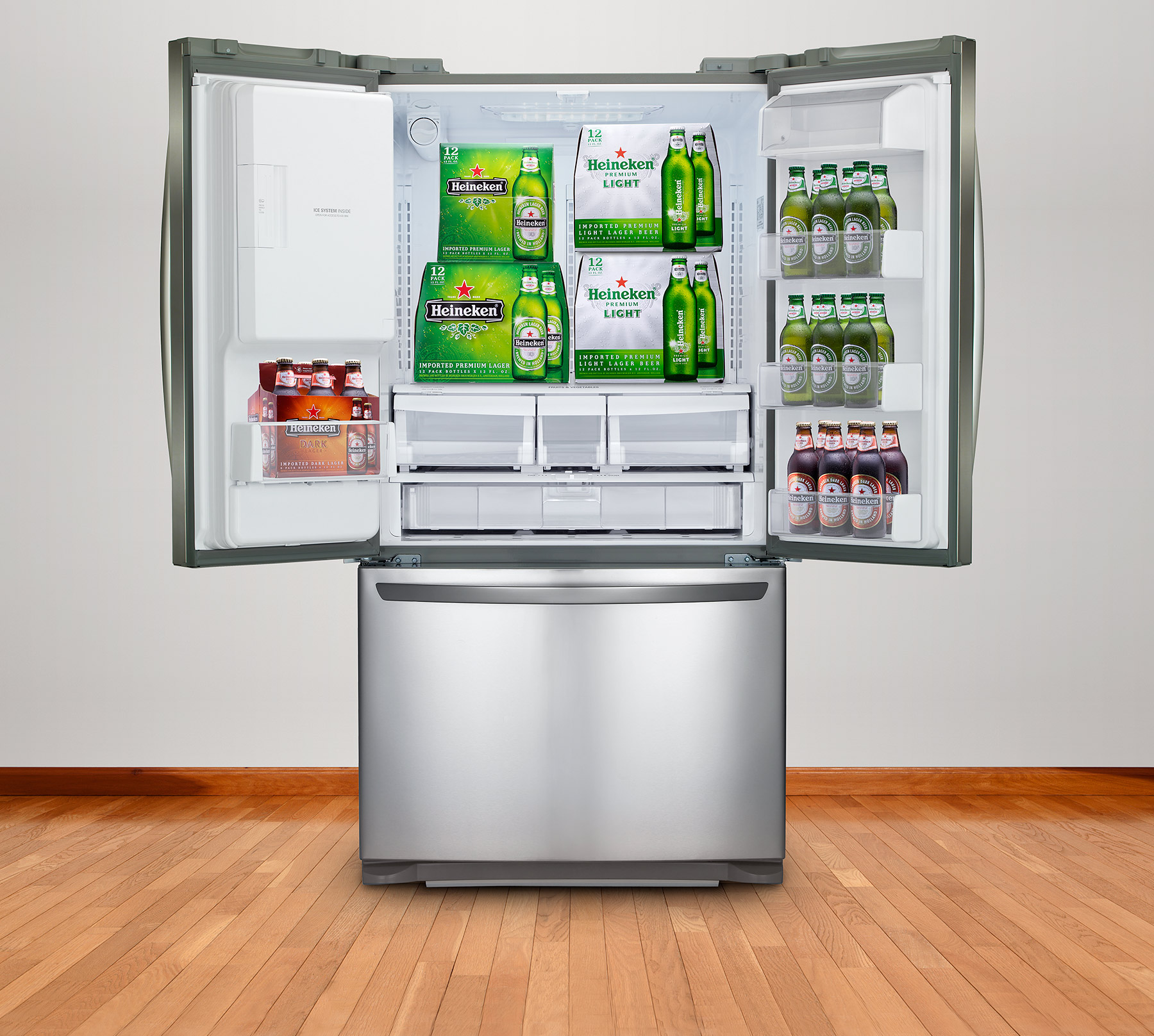 CGI Product photography of Refrigerator | Dovis Bird Agency Reps