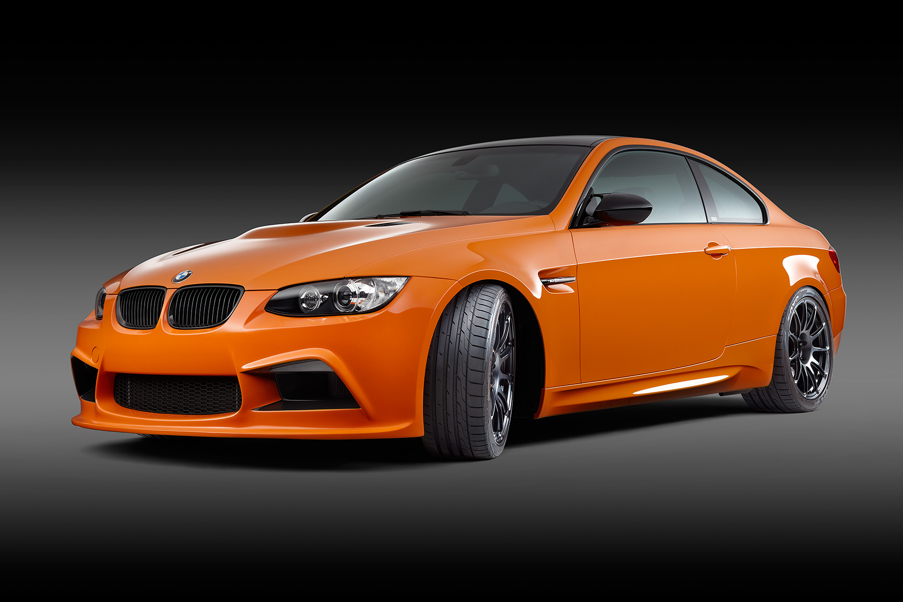 Orange BMW Automotive Photography | Dovis Bird Agency Reps