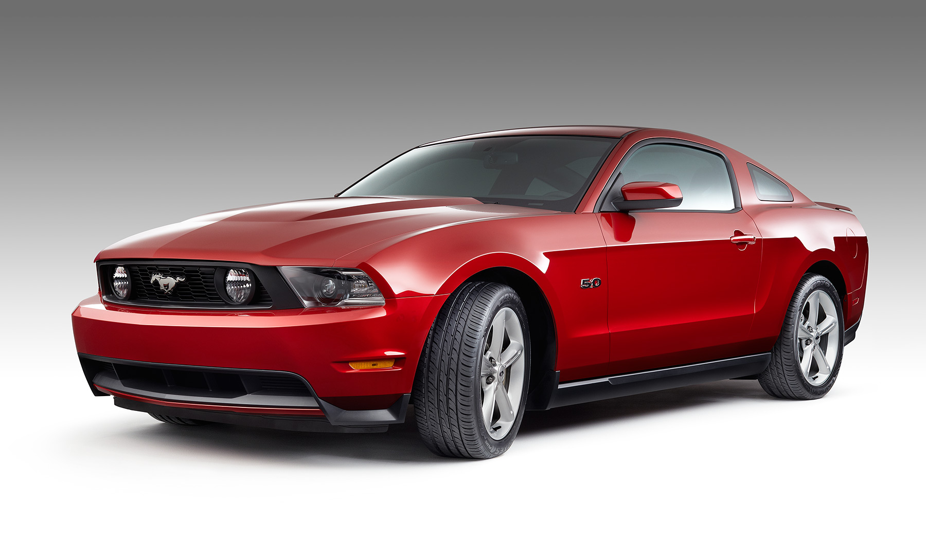 Red Mustang Automotive Photography | Dovis Bird Agency Reps