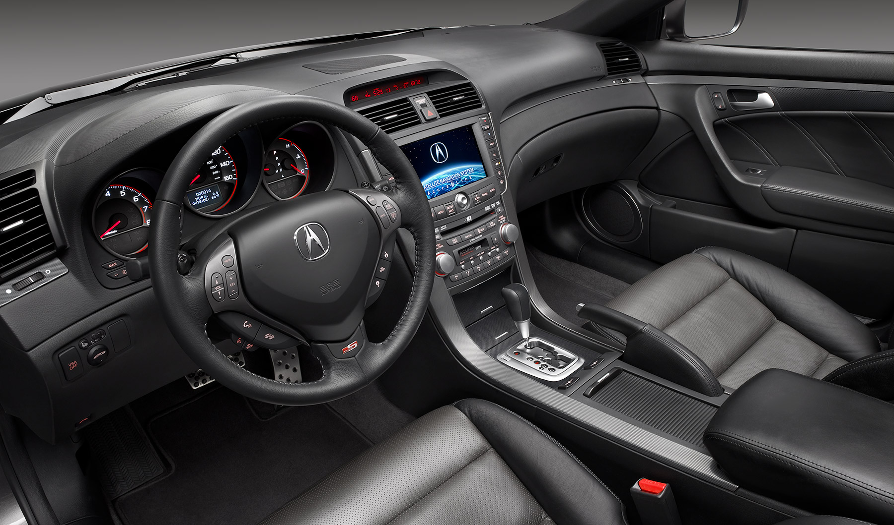 Acura interior seats Automotive Photography| Dovis Bird Agency Reps