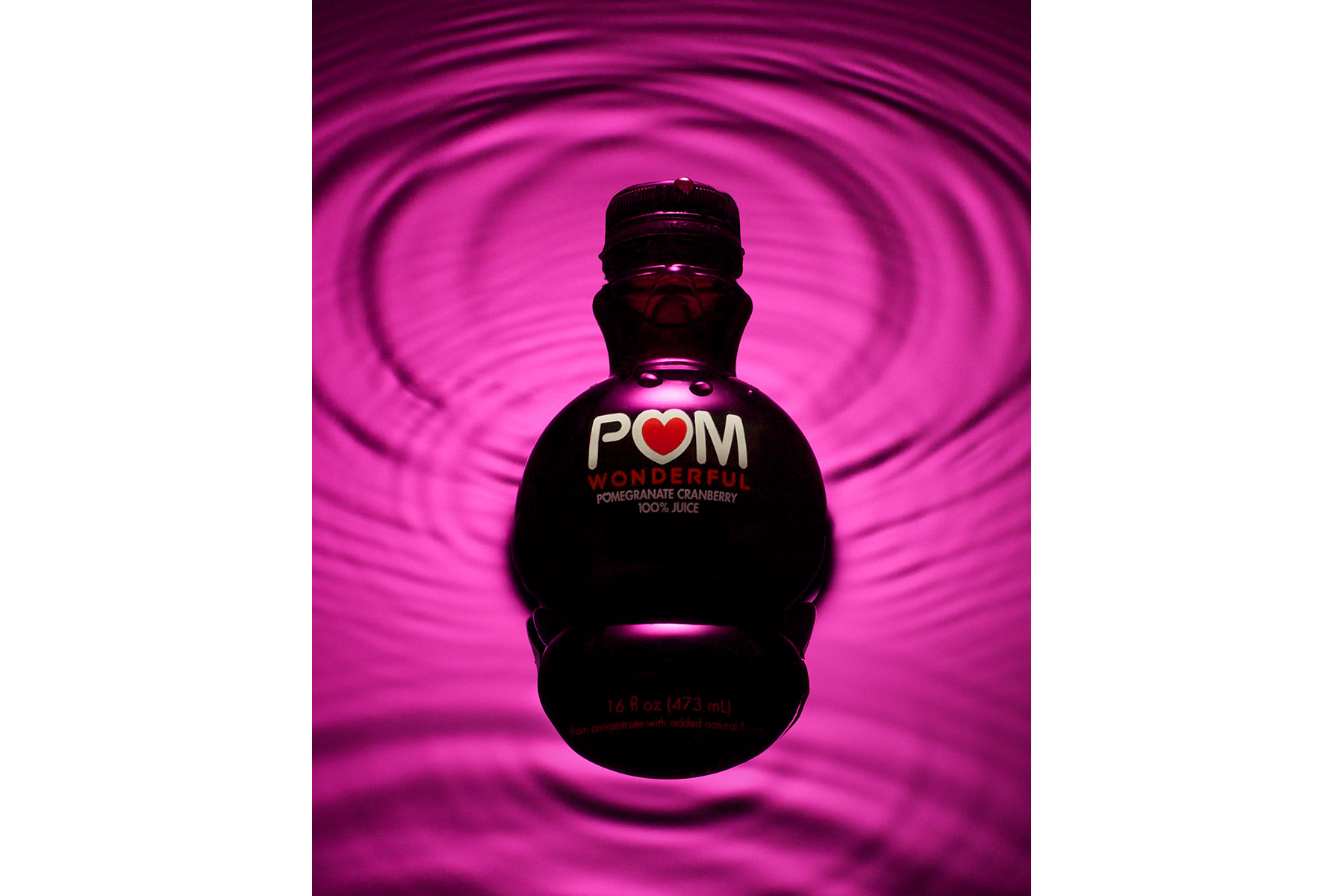 Pom Wonderful Bottle | Dovis Bird Agency Reps