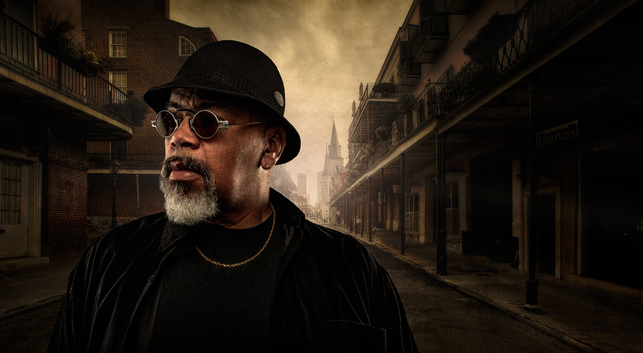 New Orleans Blues-man| Dovis Bird Agency Photography