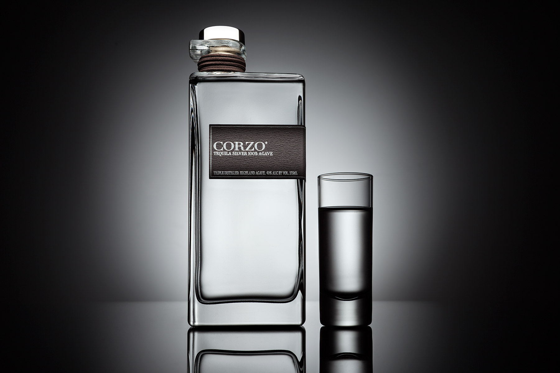 Corzo Tequila Bottle | Dovis Bird Agency Reps