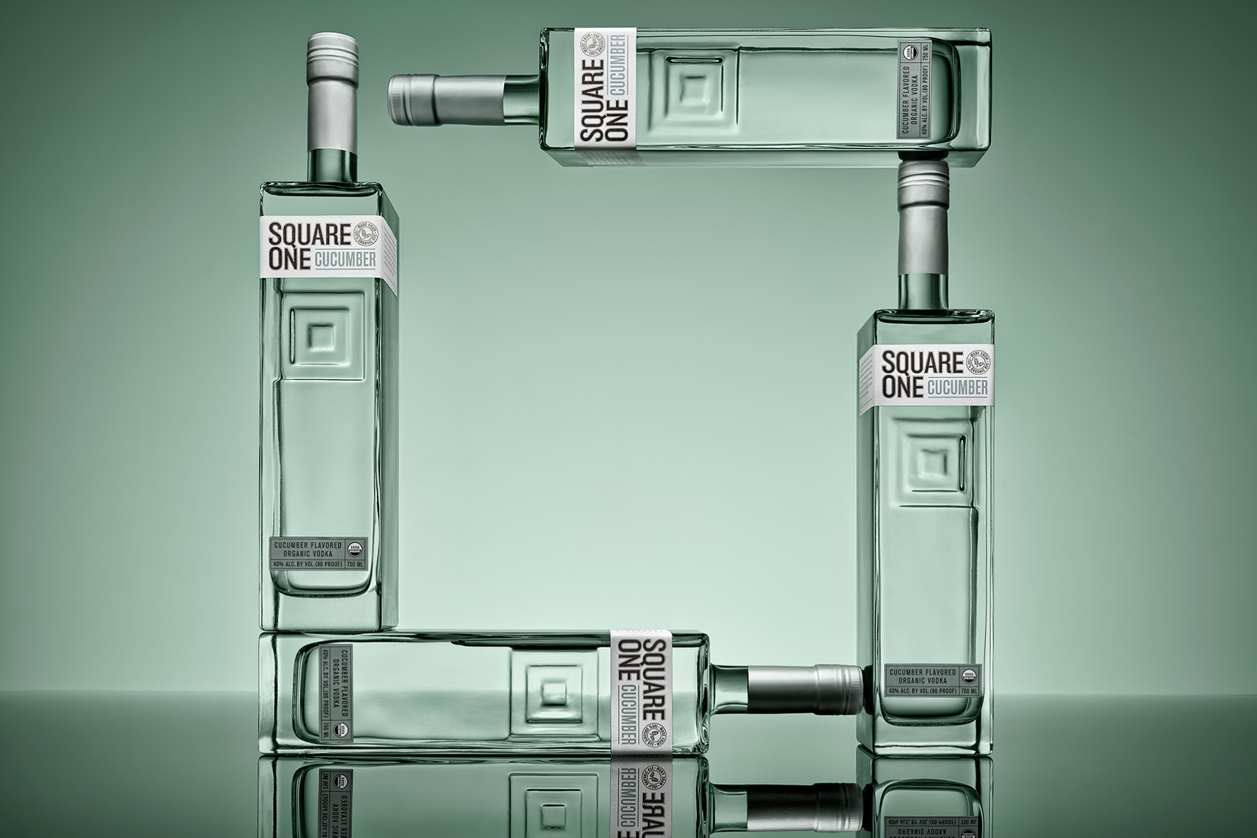 Square One Vodka Bottles | Dovis Bird Agency Reps