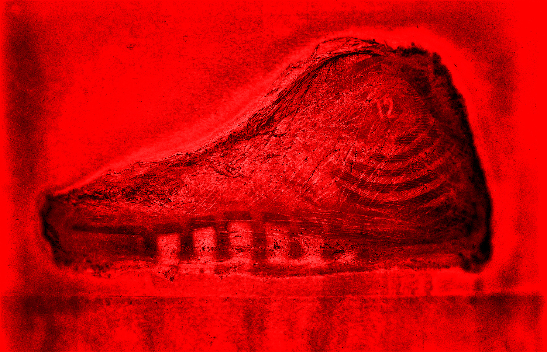 X-ray of sneakers  | Dovis Bird Agency Reps