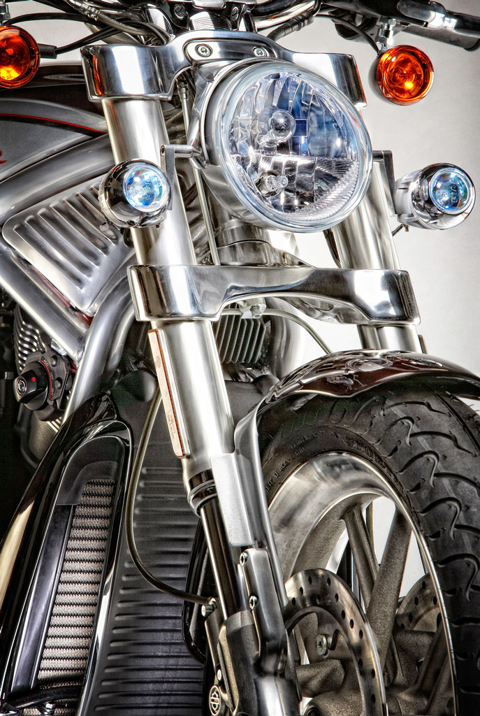 Motorcycle lights | Dovis Bird Agency Photography