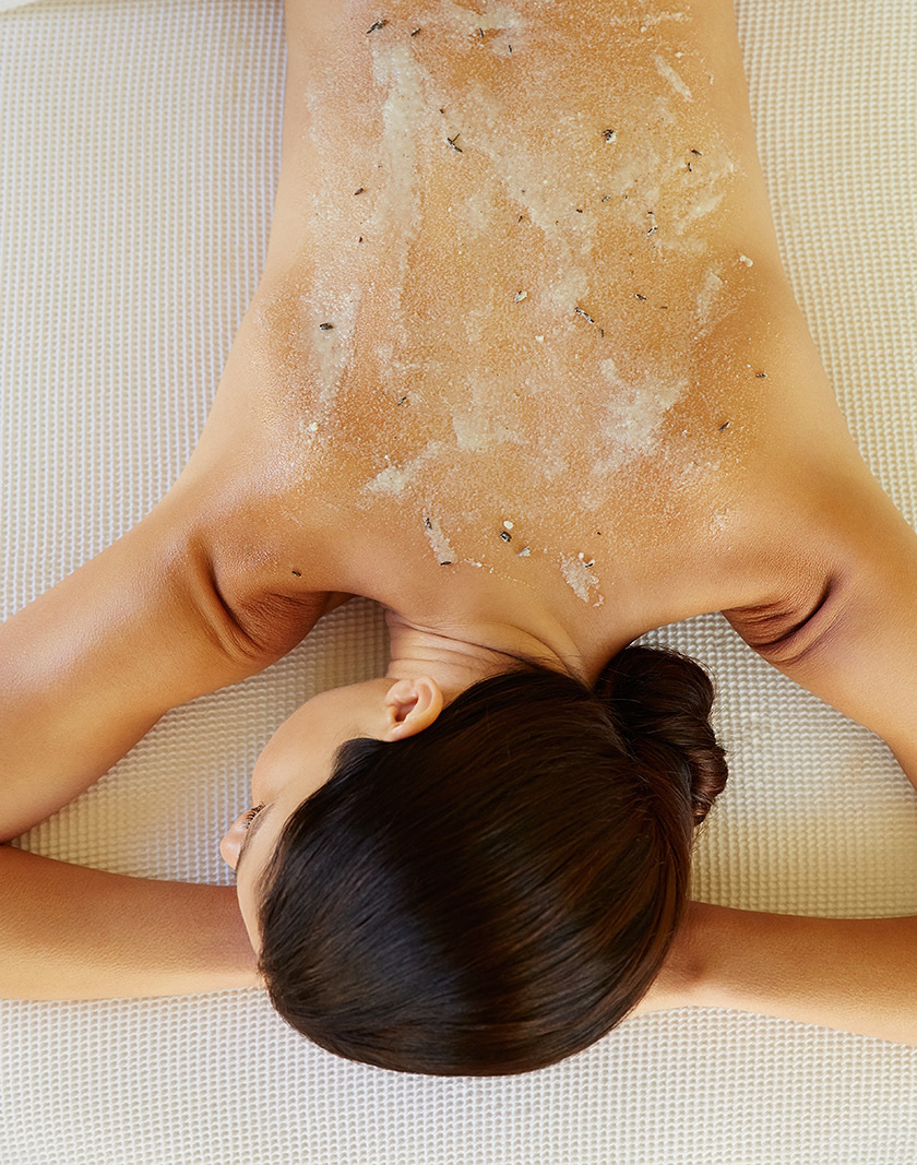 Woman having a massage at spa  | Dovis Bird Agency Photography