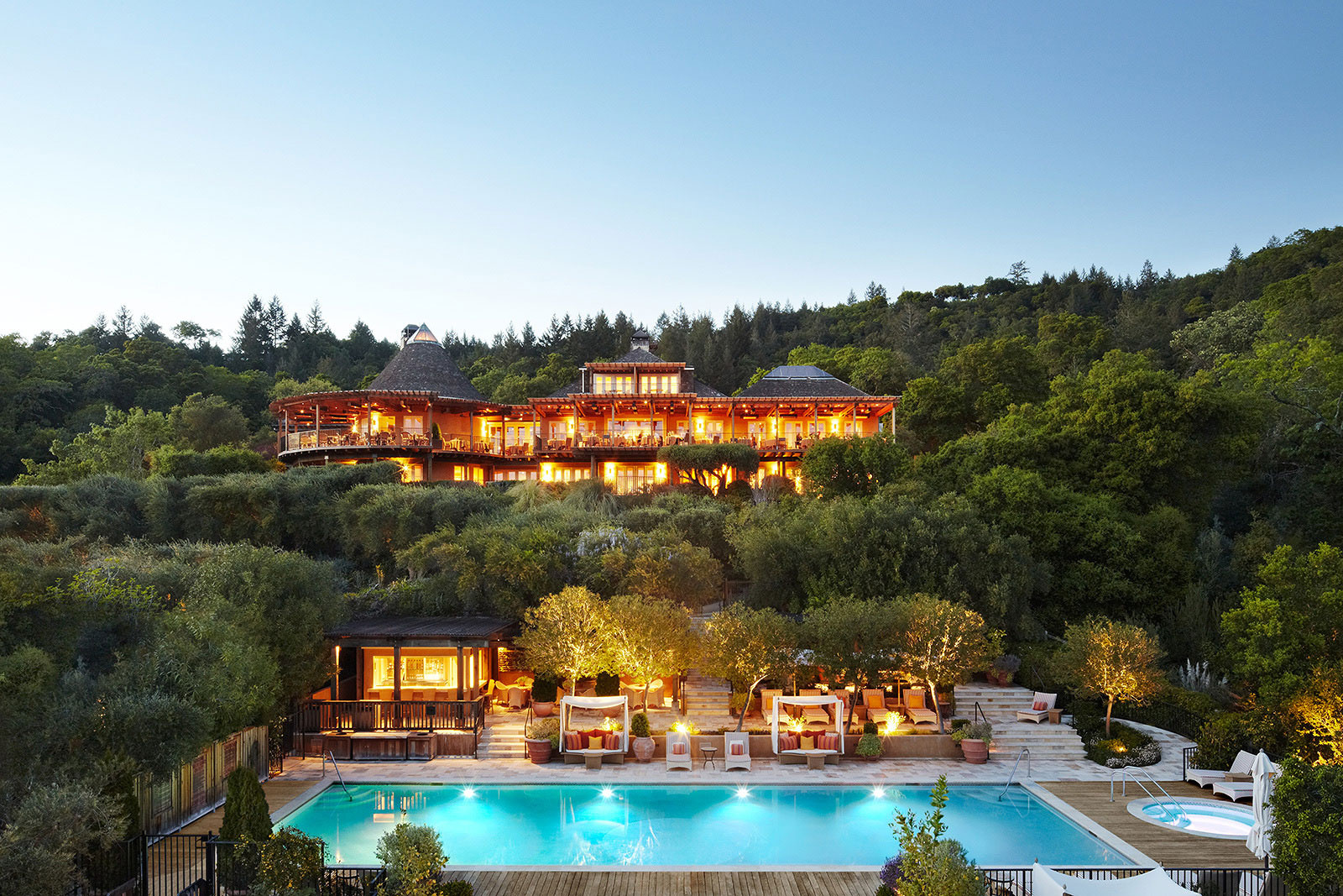 Auberge Du Soleil Resort in Napa Valley,California | Dovis Bird Agency