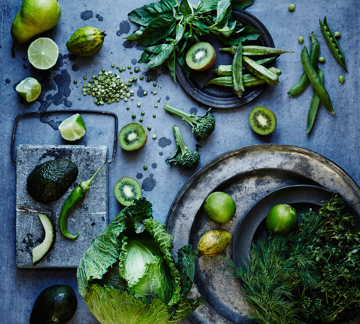 Still life of green vegetables  | Dovis Bird Agency