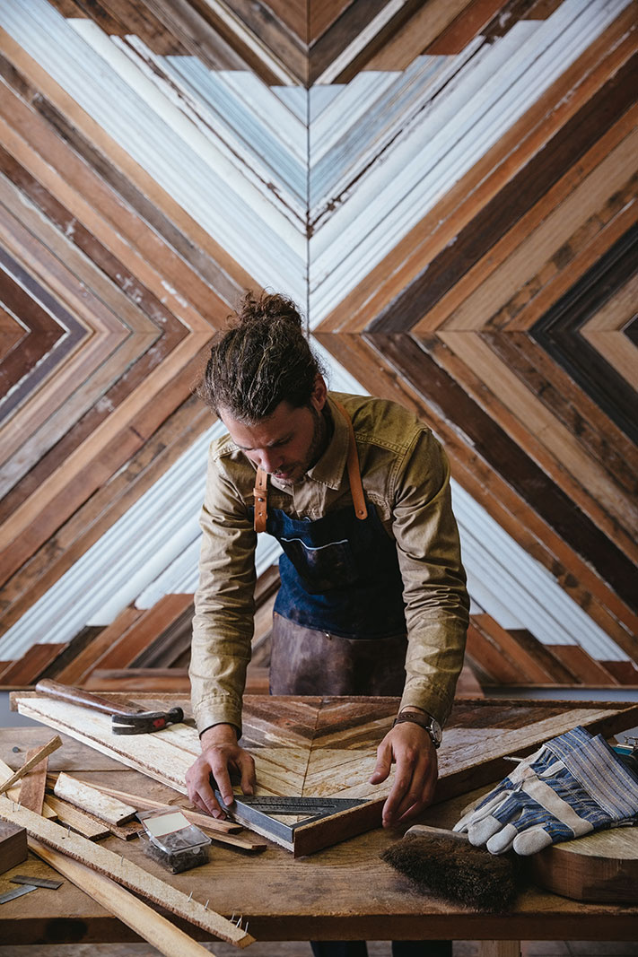 Artisan wood worker in his studio  | Dovis Bird Agency Photography