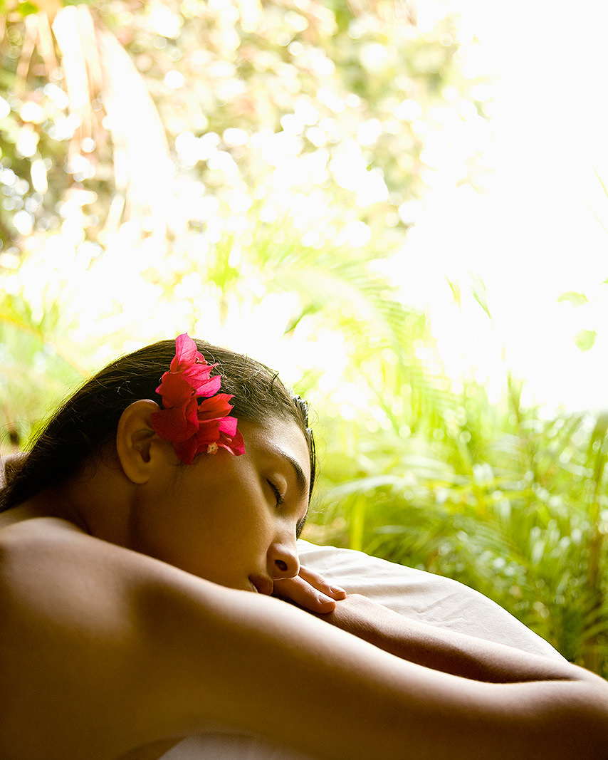 Woman having massage at spa  | Dovis Bird Agency Photography