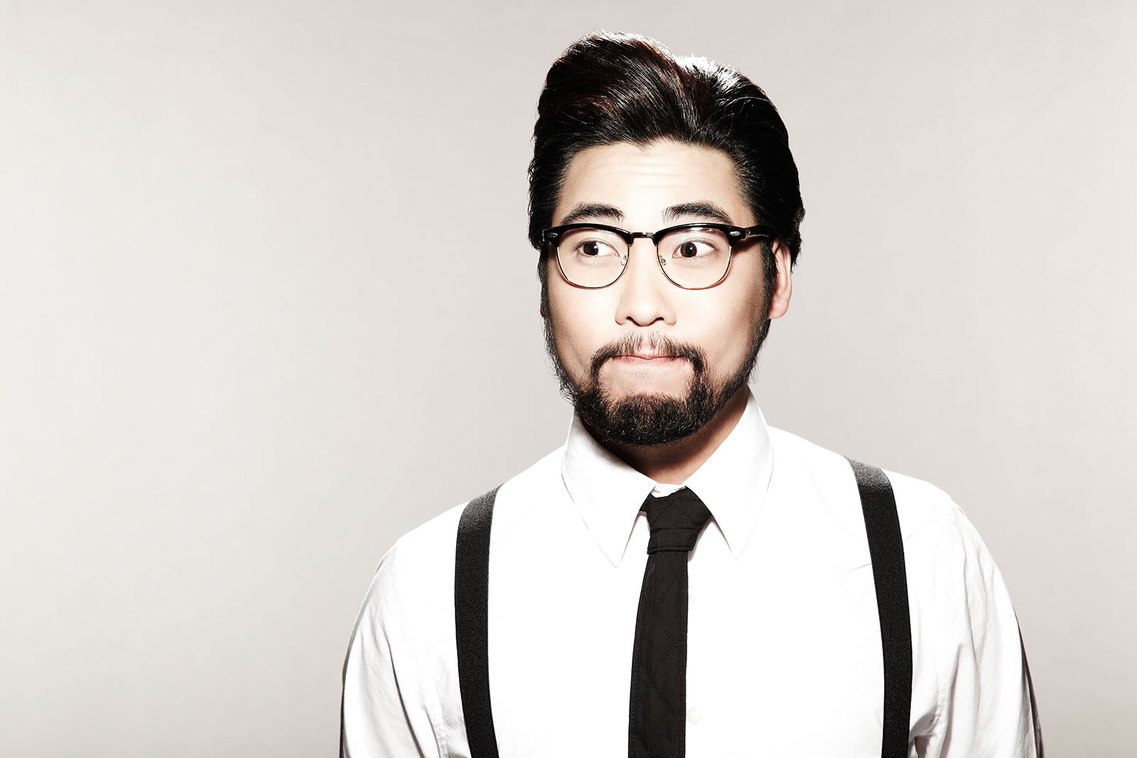 Studio Portrait of Asian Hipster  | Dovis Bird Agency Photography